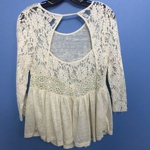 Ya Los Angeles Tops - Ya Los Angeles Lace Top